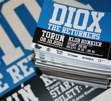 Diox bilety, Realizacje, Design-IT