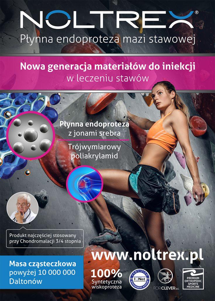 Plakat Noltrex - Płynna endoproteza stawowa