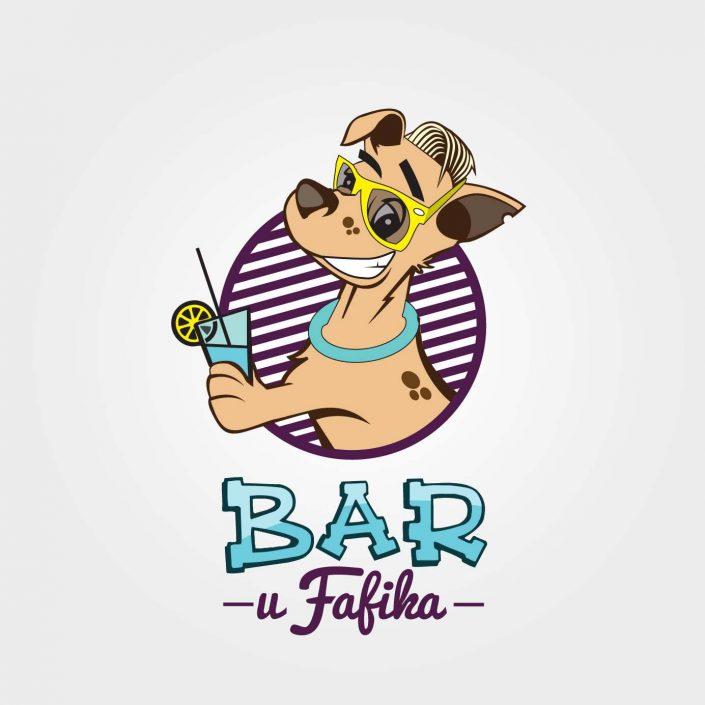 Projekt logo - Bar u Fafika