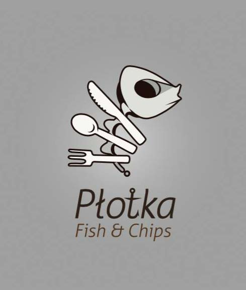 Projekt logo - Płotka