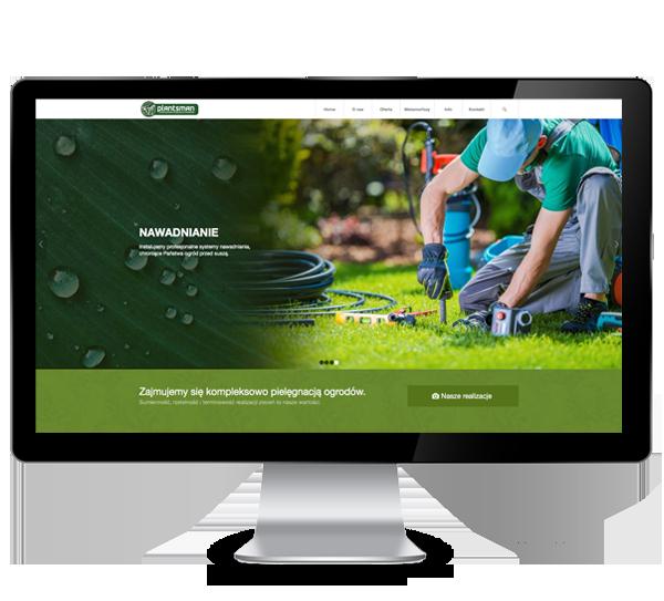Strona internetowa - plantsman