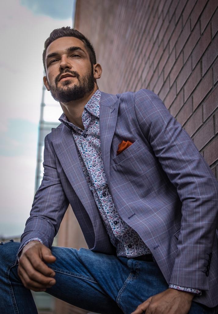 Fotograf toruń - fotografia eleganckiego mężczyzny